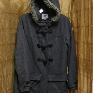 Old Navy 38% Wool Gray Coat #350